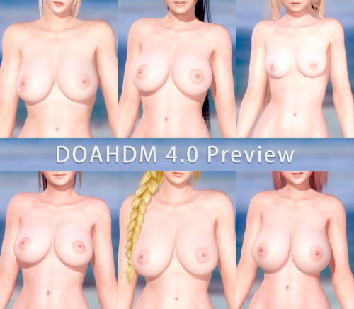 Erotic DOA - Dead or Alive 5 Last Round HDM Nude Mod - part 8