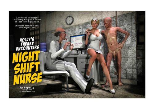 Holly's Freaky Encounters- Night Shift Nurse